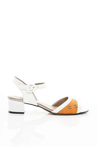 Sandales/Nu pieds blanc HASLEY pour femme
