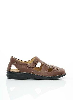 Sandales/Nu pieds marron LA PLUME pour homme