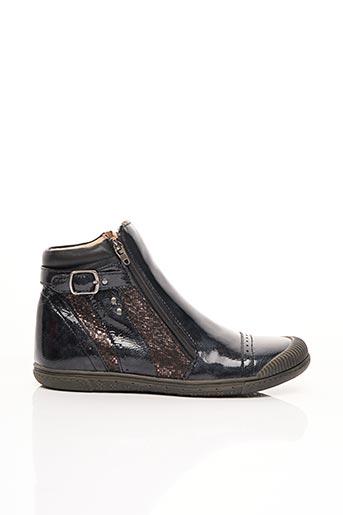 Bottines/Boots bleu NOËL pour fille