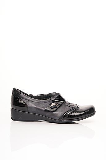 Chaussures de confort noir ARTIKA SOFT pour femme