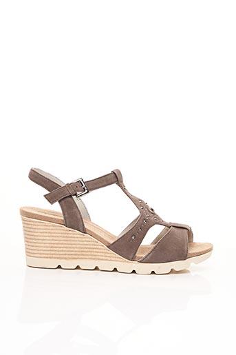 Sandales/Nu pieds vert CAPRICE pour femme