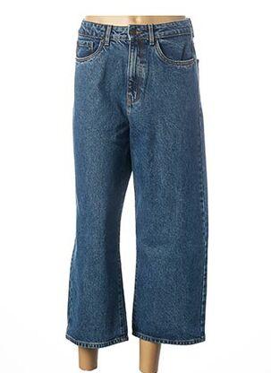 Jeans coupe large bleu VERO MODA pour femme
