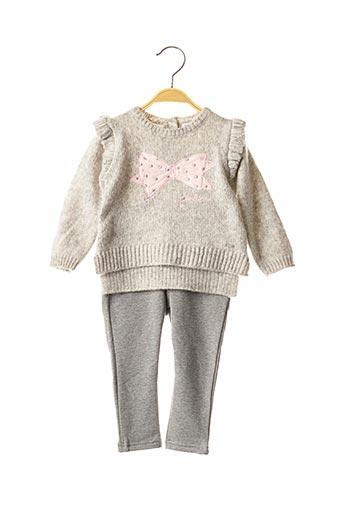 Pull/pantalon gris MAYORAL pour fille
