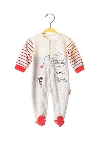Pyjama gris BABY BOL pour garçon