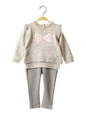 Pull/pantalon gris MAYORAL pour fille seconde vue