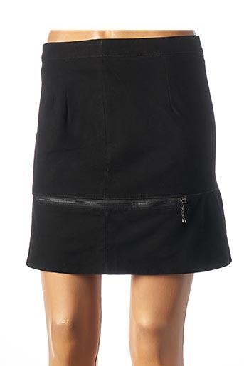 Jupe courte noir ROSE GARDEN pour femme