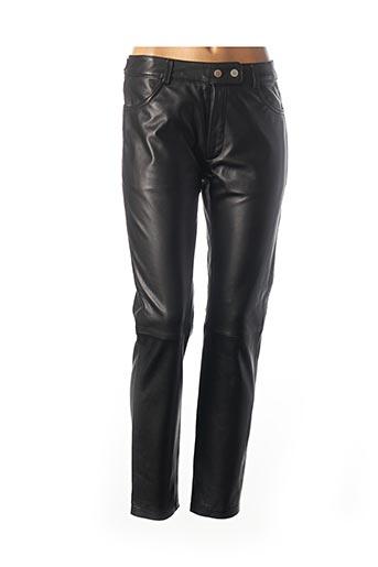 Pantalon chic noir ROSE GARDEN pour femme