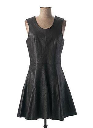Robe courte noir ROSE GARDEN pour femme