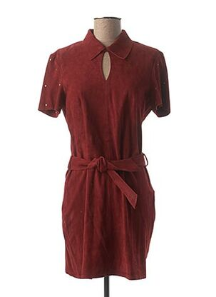 Robe courte rouge ROSE GARDEN pour femme