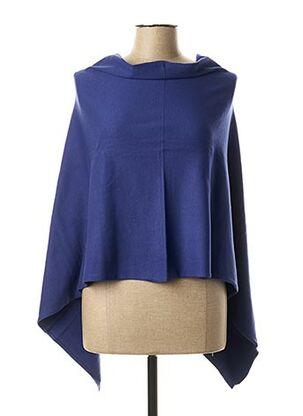 Poncho bleu LA FIANCEE DU MEKONG pour femme