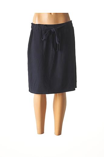 Jupe mi-longue bleu KATMAI pour femme