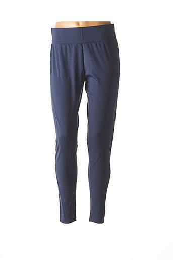 Legging bleu SANDWICH pour femme