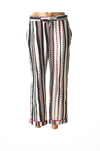 Pantalon casual blanc ANDAMIO pour femme