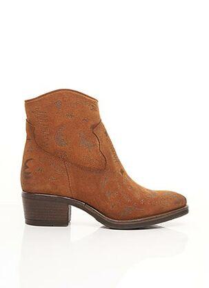 Bottines/Boots marron COM CREATION OF MINDS pour femme