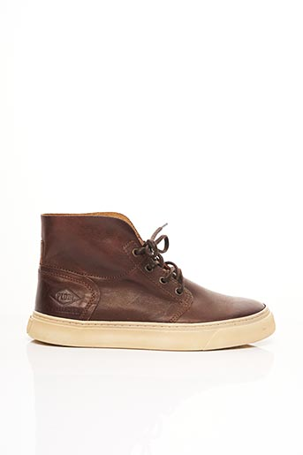 Bottines/Boots marron PALLADIUM pour homme
