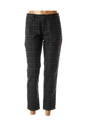 Pantalon casual noir FREEMAN T.PORTER pour femme