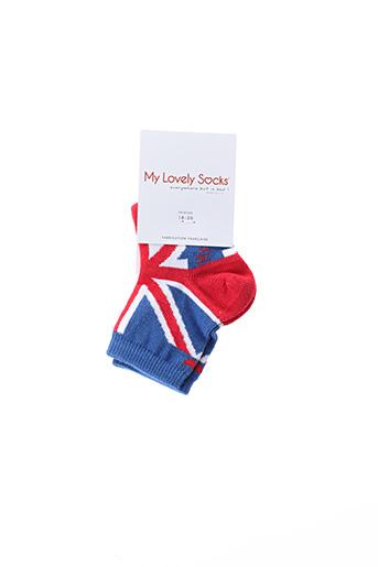 Chaussettes bleu MY LOVELY SOCKS pour enfant