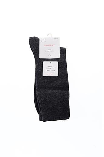 Chaussettes gris ESPRIT pour homme