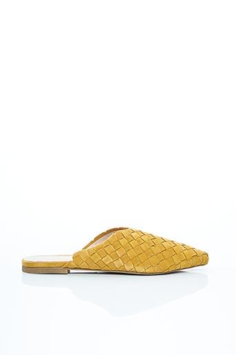Mules/Sabots jaune ALDO pour femme