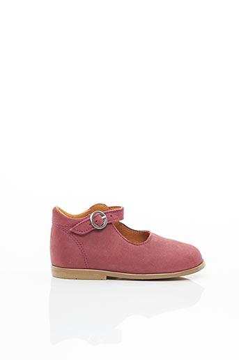 Sandales/Nu pieds rose PATT'TOUCH pour fille