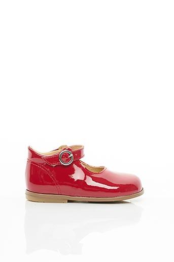 Sandales/Nu pieds rouge PATT'TOUCH pour fille
