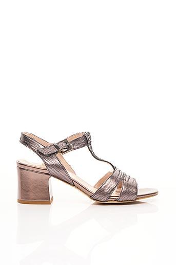 Sandales/Nu pieds violet CAFE NOIR pour femme