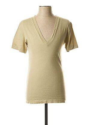 T-shirt manches courtes vert LASC pour homme