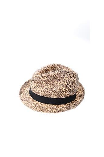 Chapeau beige ALCOTT pour homme