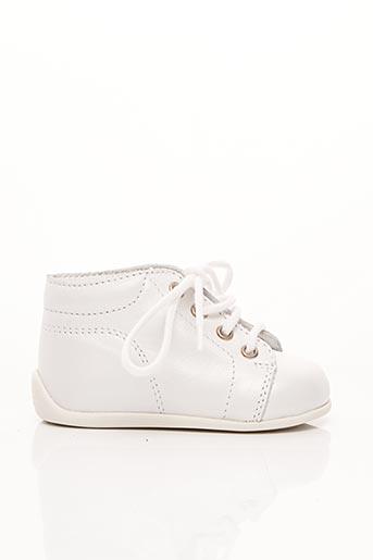 Baskets blanc BOPY pour fille