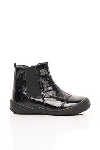 Bottines/Boots noir BOPY pour fille