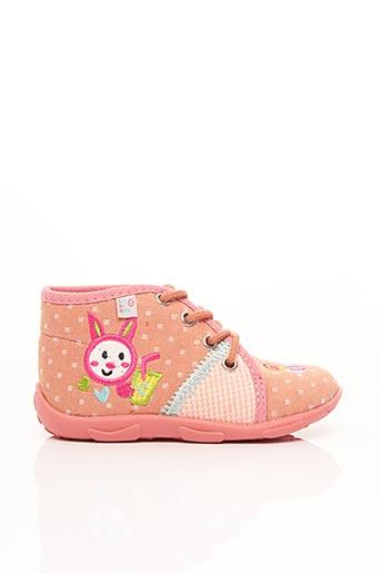 Chaussons/Pantoufles rose GBB pour fille