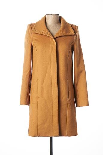 Manteau long marron PATRIZIA PEPE FIRENZE pour femme