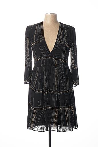 Robe courte noir PATRIZIA PEPE FIRENZE pour femme