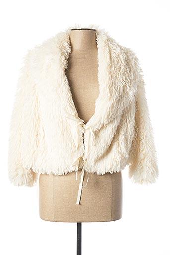 Veste casual beige PATRIZIA PEPE FIRENZE pour femme
