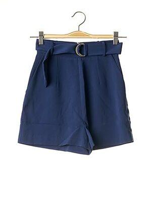 Short bleu GUESS pour femme