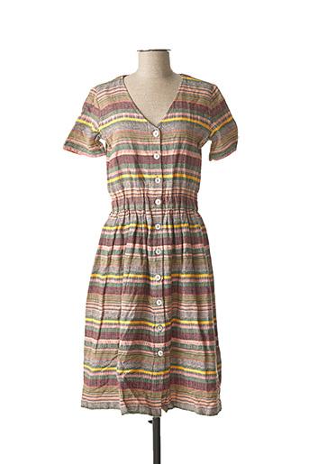 Robe mi-longue marron EDC BY ESPRIT pour femme