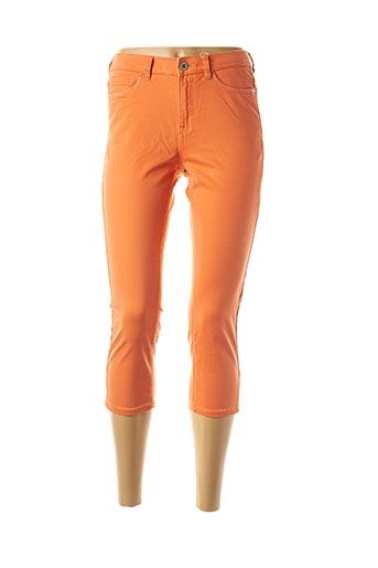 Pantacourt décontracté orange EDC BY ESPRIT pour femme
