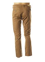 Pantalon casual marron SELECTED pour homme seconde vue