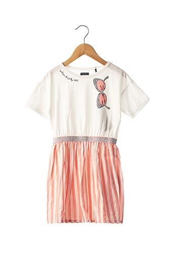 Robe mi-longue rose IKKS pour fille
