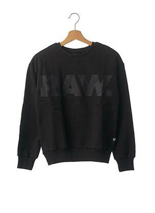 Sweat-shirt noir G STAR pour fille