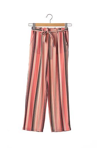 Pantalon chic rose BECKARO pour fille