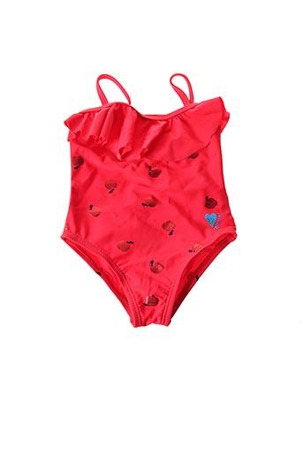 Maillot de bain 1 pièce rouge CATIMINI pour fille