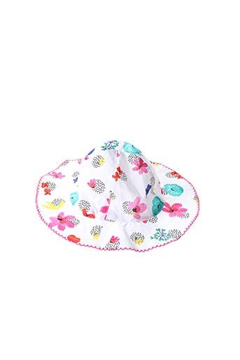 Chapeau blanc CATIMINI pour fille