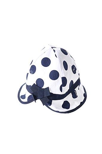 Chapeau bleu LILI GAUFRETTE pour fille