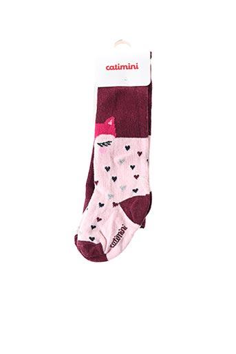 Chaussettes violet CATIMINI pour fille