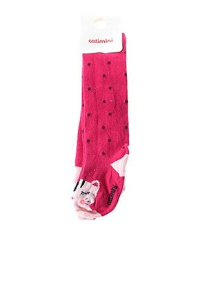 Chaussettes rose CATIMINI pour fille