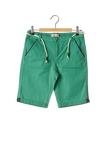 Bermuda vert JEAN BOURGET pour garçon