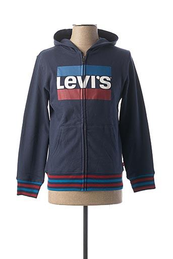 Veste casual bleu LEVIS pour garçon