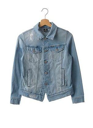 Veste en jean bleu G STAR pour enfant