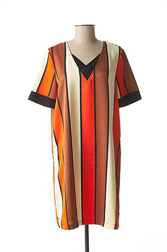 Robe courte orange SCOTCH & SODA pour femme